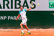 during the Roland Garros French Tennis Open 2018, day 2, on May 28, 2018, at the Roland Garros Stadium in Paris, France - Photo Pierre Charlier / ProSportsImages / DPPI