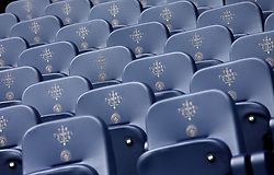 General view of the Tunnel Club seating before the FA Cup fourth round match at Etihad Stadium, Manchester.