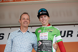 Lorena Wiebes (NED) leads the points classification at Boels Ladies Tour 2019 - Stage 4, a 135.6 km road race from Arnhem to Nijmegen, Netherlands on September 7, 2019. Photo by Sean Robinson/velofocus.com