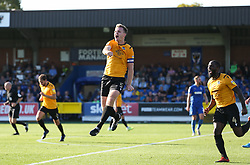Tony Craig of Bristol Rovers celebrates scoring to make  it 1-3 - Mandatory by-line: Arron Gent/JMP - 21/09/2019 - FOOTBALL - Cherry Red Records Stadium - Kingston upon Thames, England - AFC Wimbledon v Bristol Rovers - Sky Bet League One