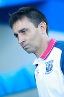 CD Leganes' coach Asier Garitano during friendly match. August 12,2017. (ALTERPHOTOS/Acero)