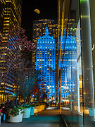 The Helmsley Building in Blue color, New York City