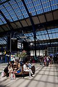 Brighton train station. Built in 1840. Brighton, East Sussex.