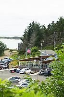 The Schooner Restaurant at Netarts Bay, Oregon.