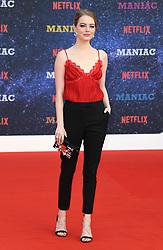 Emma Stone attending the Maniac World Premiere, BFI Southbank, London. Photo credit should read: Doug Peters/EMPICS