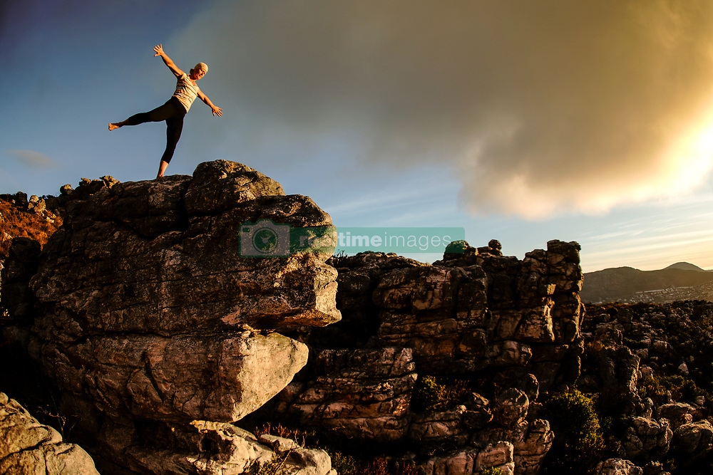 Yoga and Natural Movement on Trappieskop, Clovelly, Cape Town, Western Cape, South Africa, RSA