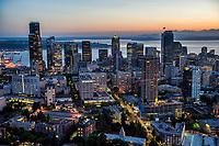 Seattle Summer Twilight