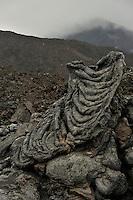 Lava formation, Etna Volcano, Sicily, Italy