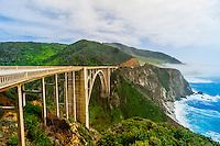 Bixby Bridge, Monterey County, California USA