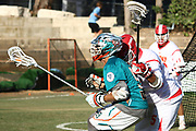 The World Lacrosse Championship in 2018 was held on July 12-21 2018 at the Orde Wingate Institute for Physical Education and Sports in Netanya, Israel. The match between Bermuda and (Green and white) Peru (white with red) was held on July 19