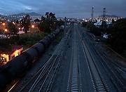 A train runs in south direction in Lechería, Estado de México. Photo taken in august 2010. (Photo: Prometeo Lucero)