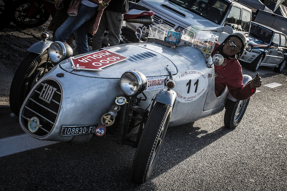 Rallylegend San Marino 2014<br /> <br /> If you can identify this historic model of Fiat, please, contact me!