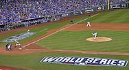 Oct 22, 2014; Kansas City, MO, USA; Kansas City Royals starting pitcher Yordano Ventura throws a pitch against the San Francisco Giants during game two of the 2014 World Series at Kauffman Stadium. Mandatory Credit: Peter G. Aiken-USA TODAY Sports