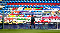 CARDIFF, WALES - Sunday, September 6, 2020: Wales' goalkeeper Wayne Hennessey during the UEFA Nations League Group Stage League B Group 4 match between Wales and Bulgaria at the Cardiff City Stadium. (Pic by David Rawcliffe/Propaganda)