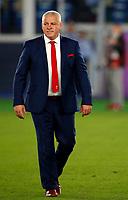 Rugby Union - 2019 Rugby World Cup - Semi-Final: Wales vs. South Africa<br /> <br /> Warren Gatland head coach of Wales at International Stadium Yokohama, Kanagawa Prefecture, Yokohama City.<br /> <br /> COLORSPORT/LYNNE CAMERON