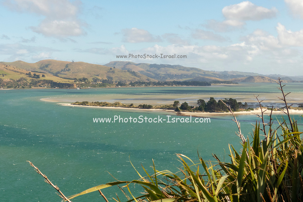 New Zealand, South Island, Seascape and landscape view