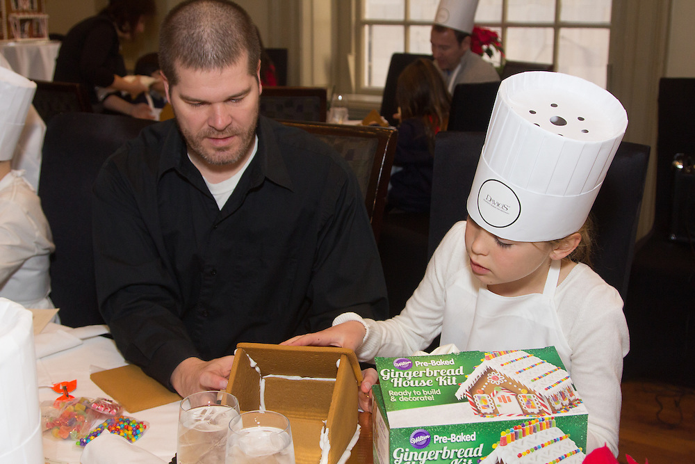 Davio's Northern Italian Steakhouse at 17th and Samsom in Center City host it's annual Gingerbread House Making Workshop.