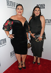 Chile y Pepper at Death Of A Nation Los Angeles Premiere held at Regal L.A. Live: A Barco Innovation Center on July 31, 2018 in Los Angeles, California, United States (Photo by Jc Olivera for Jade Umbrella)