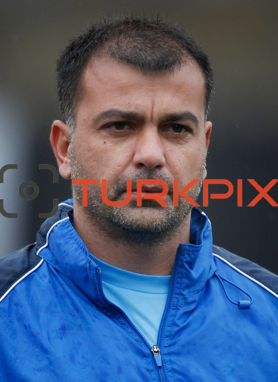 Eyupspor's goalkeeper Murat Sahin during their Turkey Cup matchday 3 soccer match Eyupspor between Eskisehirspor at Eyup Stadium in Istanbul Turkey on Wednesday, 11 January 2012. Photo by TURKPIX