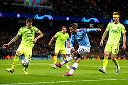 Bernardo Silva of Manchester City crosses the ball - Mandatory by-line: Robbie Stephenson/JMP - 01/10/2019 - FOOTBALL - Etihad Stadium - Manchester, England - Manchester City v Dinamo Zagreb - UEFA Champions League Group Stage