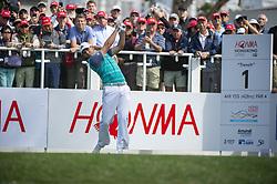 November 22, 2018 - Hong Kong, China - A photo showing Spanish Golf player Sergio Garcia during a match in the Honma Hong Kong Open 2018 in Hong Kong, China. 22 November 2018. (Credit Image: © Harry Wai/NurPhoto via ZUMA Press)