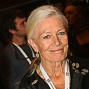 Vanessa Redgrave is one of the festival's dearest friends. She supported the first edition by attending and leading the opening ceremony. She is the president of the Honorary Board of the Festival and supports the festival by promoting it in various international circles, Sept 30, 2009. (Photo/ Vudi Xhymshiti)