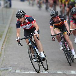 20-08-2016: Wielrennen: Ronde van Markelo: Markelo<br /> MARKELO (NED) wielrennen<br /> Arenda Grimberg stond aan het vertrek