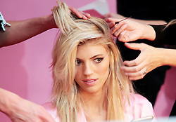 Victoria's Secret Fashion Show - Hair and Makeup, Paris, 2016, Paris, France. 30 Nov 2016 Pictured: Devon Windsor. Photo credit: MEGA TheMegaAgency.com +1 888 505 6342