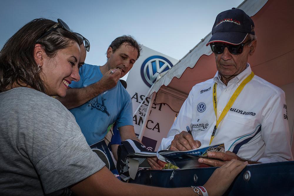 Rallylegend San Marino 2014<br /> Autograph session