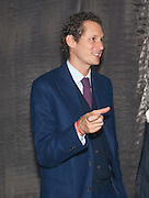 JOHN ELKANN, The Global launch of the 2012 Pirelli Calendar by Mario Sorrenti.  Dinner at the Park Avenue Armory. Manhattan. 6 December 2011.