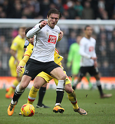 Jeff Hendrick of Derby County in action - Mandatory byline: Jack Phillips/JMP - 13/02/2016 - FOOTBALL - The iPro Stadium - Derby, England - Derby County v Milton Keynes Dons - Sky Bet Championship