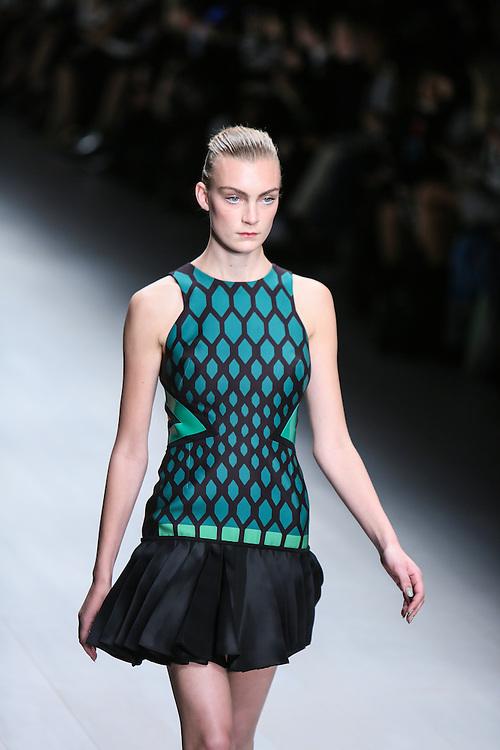 David Koma show during London Fashion Week, Spring/Summer 2013