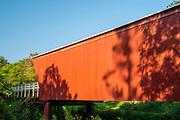 Cedar Bridge; Photograph of the Bridges of Madison County, Winterset, Iowa, USA.