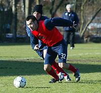 v.l. Naohiro TAKAHARA, Raphael WICKY<br /> Fu§ball Training Hamburger SV