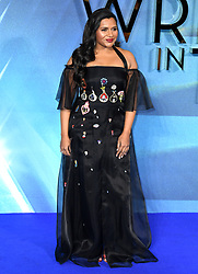 Mindy Kaling attending the A Wrinkle in Time European Premiere held at the BFI IMAX in Waterloo, London. Photo credit should read: Doug Peters/EMPICS Entertainment