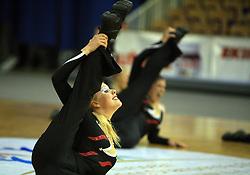 Red Hot Flames, UK at European Cheerleading Championship 2008, on July 5, 2008, in Arena Tivoli, Ljubljana, Slovenia. (Photo by Vid Ponikvar / Sportal Images).
