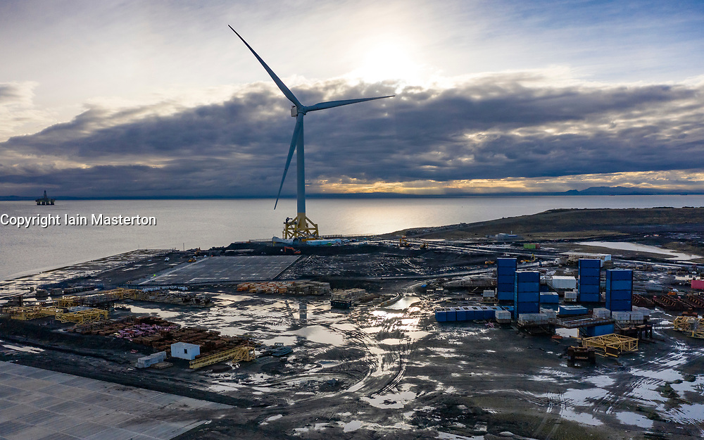 Methil, Scotland, UK. 7 December 2020. Views of Burntisland Fabrications ( BiFab) fabrication yard in Methil, Fife. The company has been placed into administration after it failed to win new contracts. Scottish Conservatives have called for parliamentary inquiry into the collapse. BiFab is owned by Canadian firm DF Barnes. Iain Masterton/Alamy Live News