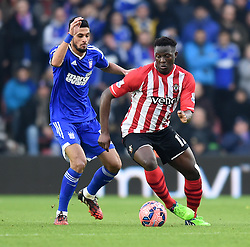 Southampton's Victor Wanyama in action against Ipswich Town - Photo mandatory by-line: Paul Knight/JMP - Mobile: 07966 386802 - 04/01/2015 - SPORT - Football - Southampton - St Mary's Stadium - Southampton v Ipswich Town - FA Cup Third Round