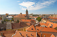 Pan Tiled Roof Tops from Eger Castle - Hungary .<br /> <br /> Visit our HUNGARY HISTORIC PLACES PHOTO COLLECTIONS for more photos to download or buy as wall art prints https://funkystock.photoshelter.com/gallery-collection/Pictures-Images-of-Hungary-Photos-of-Hungarian-Historic-Landmark-Sites/C0000Te8AnPgxjRg