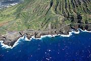 Road, Coastline, Hawaii Kai,Oahu, Hawaii