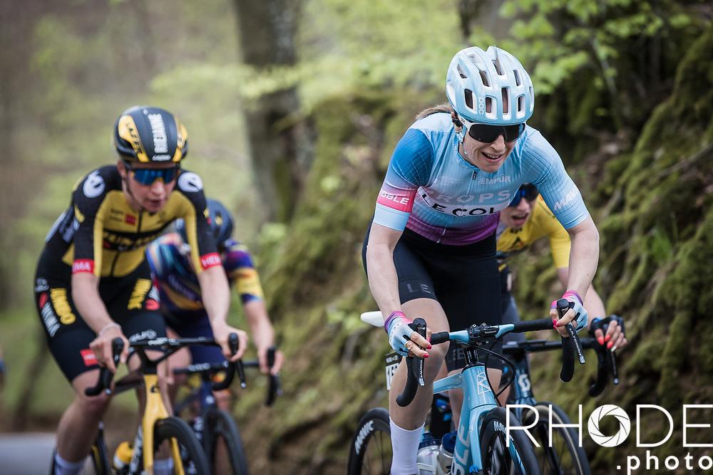Dani Christmas (GBR/Drops-LeCol)<br /> <br /> Ceratizit Festival Elsy Jacobs (LUX) 2021<br /> UCI Women Elite 2.1<br /> Day 2 – stage : Steinfort >Steinfort 125.1km  <br /> <br /> ©RhodePhoto