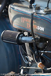 High Desert Harley-Davidson in Meridian, Idaho for the hosted dinner strop at the end of stage 13 (257 miles) of the Motorcycle Cannonball Cross-Country Endurance Run, which on this day ran from Elko, NV to Meridian, Idaho, USA. Thursday, September 18, 2014.  Photography ©2014 Michael Lichter.