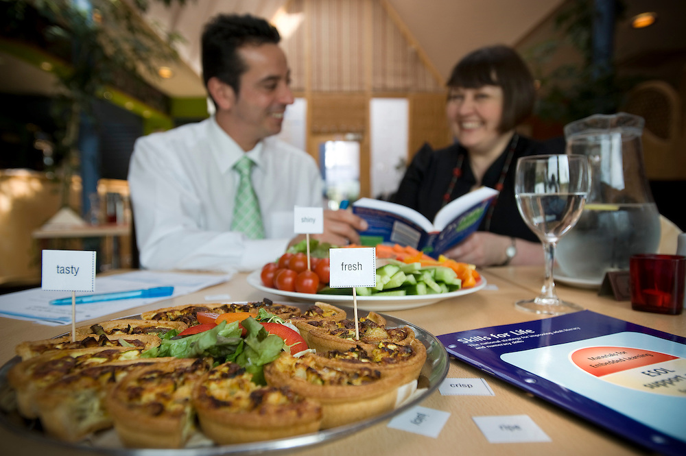 United Kingdom. Norfolk. ESOL in Catering and Hospitality in action at Poultec Ltd..Photo©Steve Forrest/Workers Photos