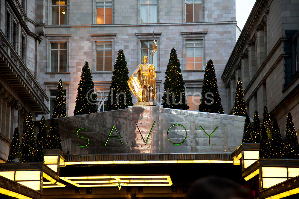 The Savoy Hotel is a hotel located on the Strand, in central London. Built by impresario Richard D'Oyly Carte, the hotel opened on 6 August 1889. It was the first in the Savoy group of hotels and restaurants owned by Carte's family for over a century. It was also the first luxury hotel in Britain, introducing electric lights throughout the hotel, electric lifts, bathrooms inside most of the lavishly furnished rooms, constant hot and cold running water and many other innovations.