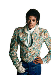 MICHAEL JOSEPH JACKSON (Aug. 29, 1958 - Jun. 25, 2009) recording artist superstar, entertainer, businessman died at age 50. Known as the 'King of Pop', Jackson rocketed to fame at age 11, as a member of The Jackson 5 in 1968. He went solo in 1971, and his 1982 album 'Thriller' remains the world's best-selling album of all time. PICTURED: MICHAEL JACKSON, in jacket and glove costume from the Jacksons' 1984 'Victory' Tour. (Credit © Harrison Funk/ZUMApress.com)