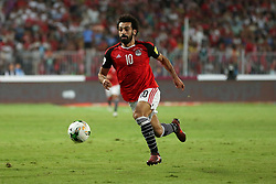 October 8, 2017 - Alexandria, Egypt - Egypt's Mohamed Salah in action during their World Cup 2018 Africa qualifying match between Egypt and Congo at the Borg el-Arab stadium in Alexandria on October 8, 2017. (Credit Image: © Ahmed Awaad/NurPhoto via ZUMA Press)