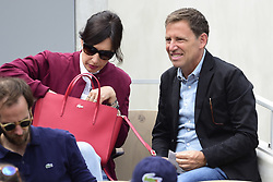 May 29, 2019 - Paris, France, FRANCE - Daniel Riolo et sa femme Geraldine Maillet (Credit Image: © Panoramic via ZUMA Press)