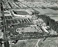 1938 Aerial of Gilmore Stadium & Farmers' Market