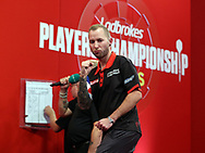 Danny Noppert during the 2018 Players Championship Finals at Butlins Minehead, Minehead, United Kingdom on 25 November 2018.