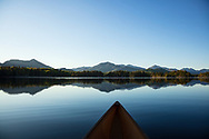 Evening paddle on Boreas Pond